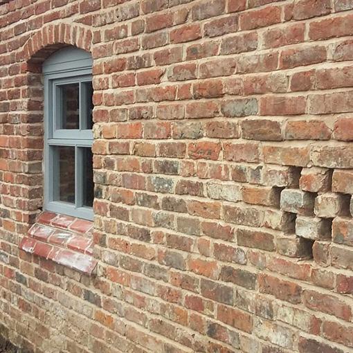 Reclamation Brick Slips For A Reclaimed Brick Finish | UK