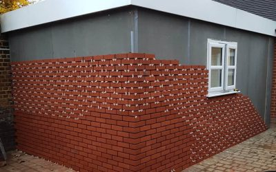 Brick & Stone Slips for Lighter Building Methods (SIPS, ICF & Timber Frame)