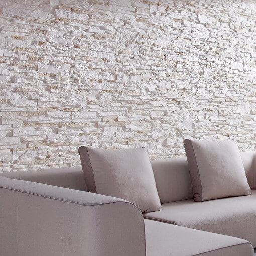 Internal White Stone Panels
