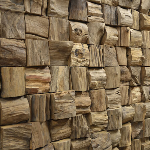 random stack wooden panels