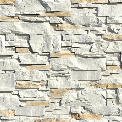 White Stone Panels