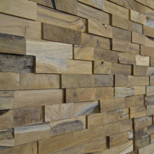 random stack wood panels