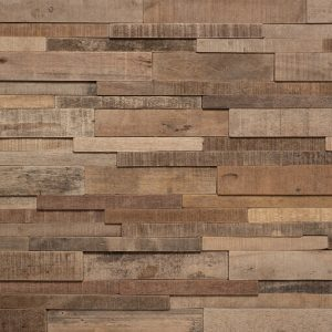 3D wood feature wall panels